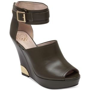 Vince Camuto  Wiver Platform Wedge w/ Ankle Strap